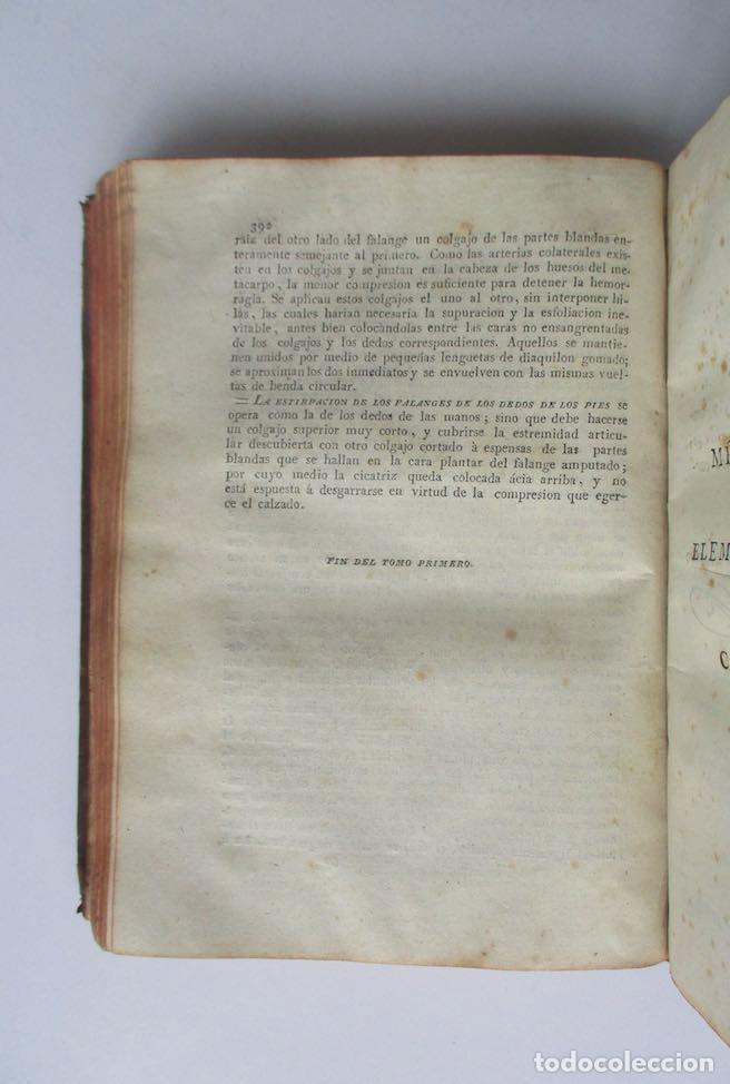 Libros antiguos: MANUAL MEDICO-QUIRURGICO O ELEMENTOS DE MEDICINA Y CIRUGIA PRACTICA - DOS TOMOS - AÑO 1820, MURCIA - Foto 8 - 154603054