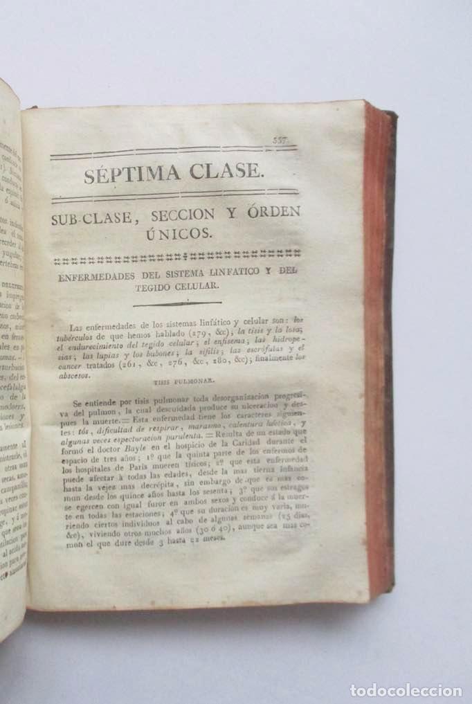 Libros antiguos: MANUAL MEDICO-QUIRURGICO O ELEMENTOS DE MEDICINA Y CIRUGIA PRACTICA - DOS TOMOS - AÑO 1820, MURCIA - Foto 11 - 154603054