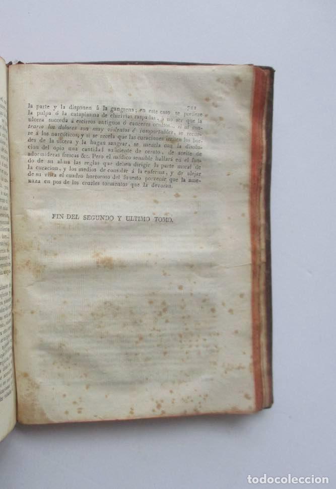 Libros antiguos: MANUAL MEDICO-QUIRURGICO O ELEMENTOS DE MEDICINA Y CIRUGIA PRACTICA - DOS TOMOS - AÑO 1820, MURCIA - Foto 13 - 154603054
