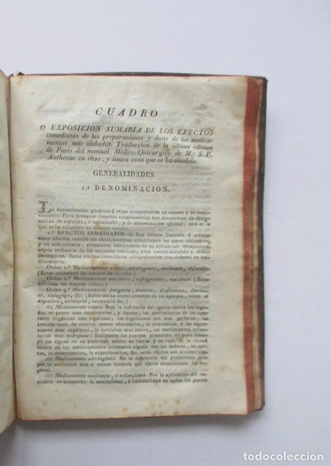 Libros antiguos: MANUAL MEDICO-QUIRURGICO O ELEMENTOS DE MEDICINA Y CIRUGIA PRACTICA - DOS TOMOS - AÑO 1820, MURCIA - Foto 15 - 154603054