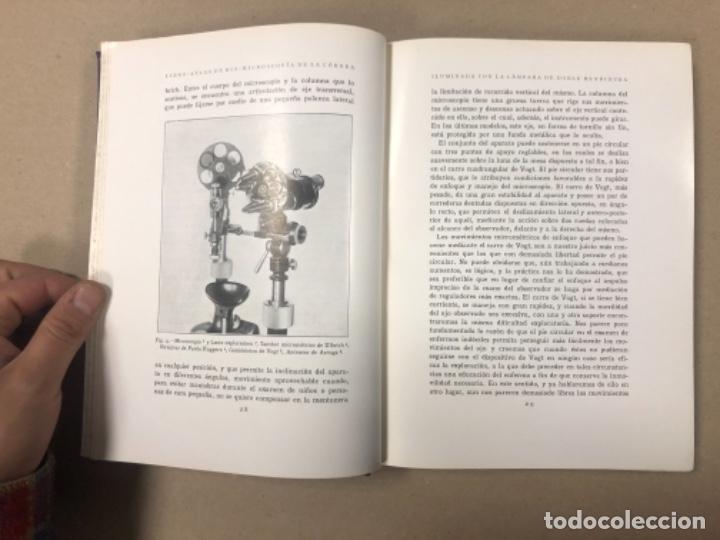 Libros antiguos: LIBRO-ATLAS DE BIO-MICROSCOPÍA DE LA CÓRNEA... J. LÓPEZ - LACARRÈRE. - Foto 3 - 154621174