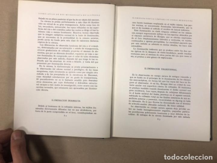 Libros antiguos: LIBRO-ATLAS DE BIO-MICROSCOPÍA DE LA CÓRNEA... J. LÓPEZ - LACARRÈRE. - Foto 5 - 154621174