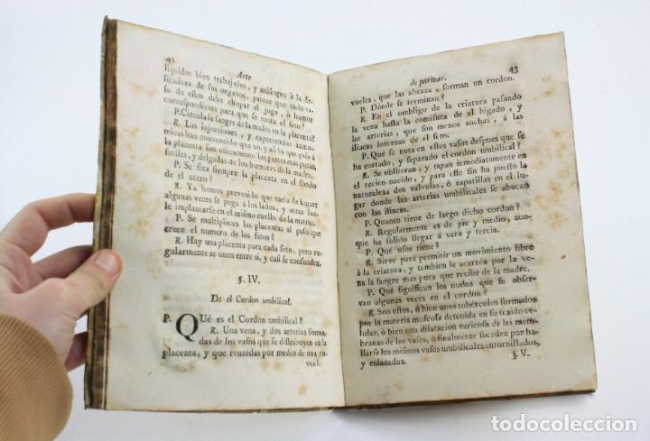 Libros antiguos: Compendio de el arte de partear, reales colegios de cirugía, 1765, Thomas Piferrer impr, Barcelona. - Foto 5 - 154780722