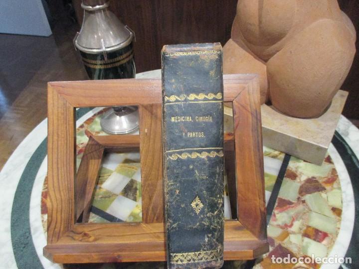 TRATADO DE MEDICINA CIRUGÍA Y PARTOS,(1871) (Libros Antiguos, Raros y Curiosos - Ciencias, Manuales y Oficios - Medicina, Farmacia y Salud)