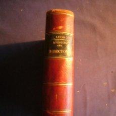 Libros antiguos: ERNESTO LAUTH: - MANUAL ANATÓMICO DEL DISECTOR (TOMO I) - (MADRID, 1841). Lote 155735942