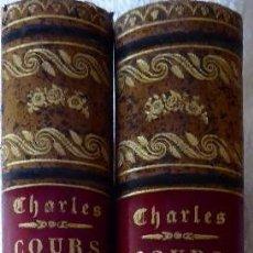 Libros antiguos: L-5304.COURS D'ACCOUCHEMENTS DONNÉ A LA MATERNITÉ DE LIÉGE.DTR.N. CHARLES. 2 TOMOS.PARTOS. AÑO 1892.. Lote 155848798