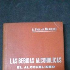 Libros antiguos: MANUALES SOLER-LAS BEBIDAS ALCOHÓLICAS-EL ALCOHOLISMO. Lote 155974522