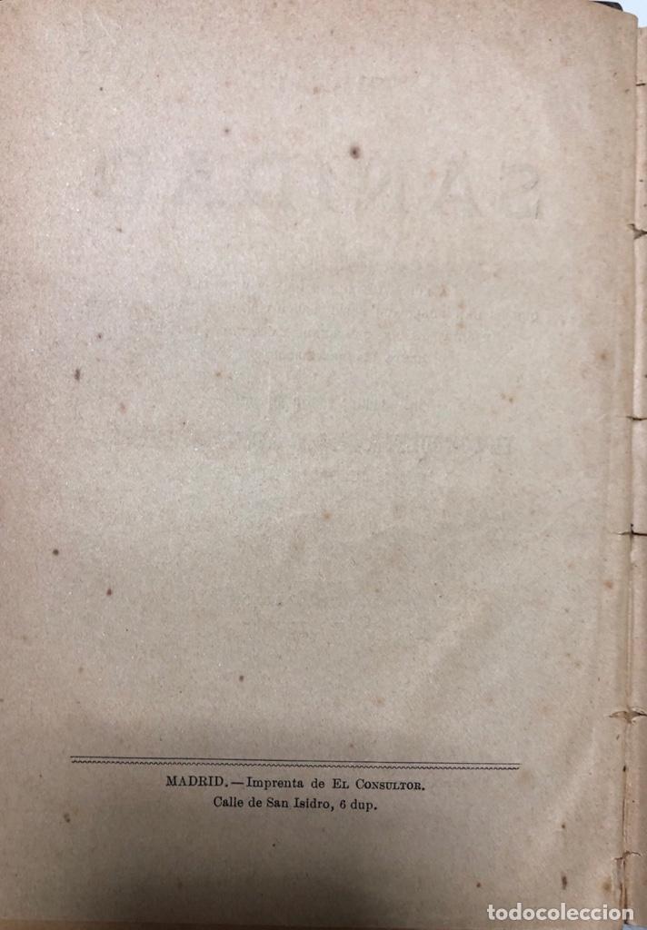 Libros antiguos: TRATADO DE SANIDAD. IMPRENTA EL CONSULTOR. MADRID 1914. PAGS 747. - Foto 4 - 156469674