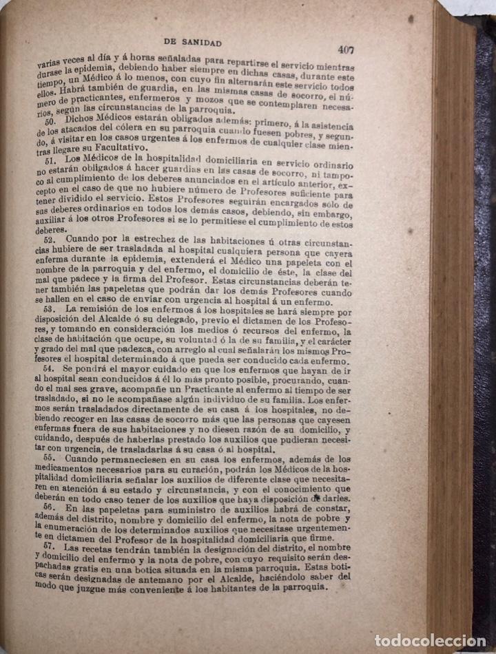 Libros antiguos: TRATADO DE SANIDAD. IMPRENTA EL CONSULTOR. MADRID 1914. PAGS 747. - Foto 11 - 156469674
