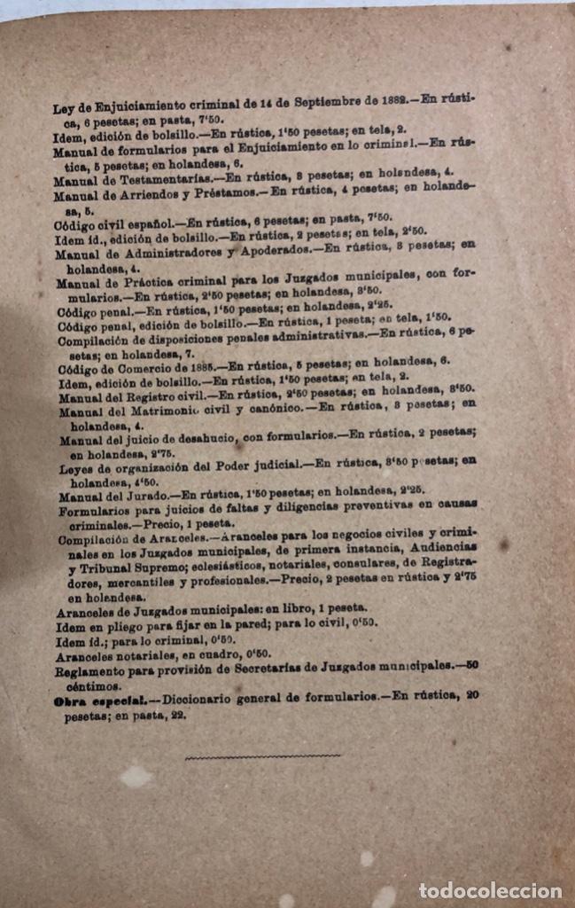 Libros antiguos: TRATADO DE SANIDAD. IMPRENTA EL CONSULTOR. MADRID 1914. PAGS 747. - Foto 16 - 156469674