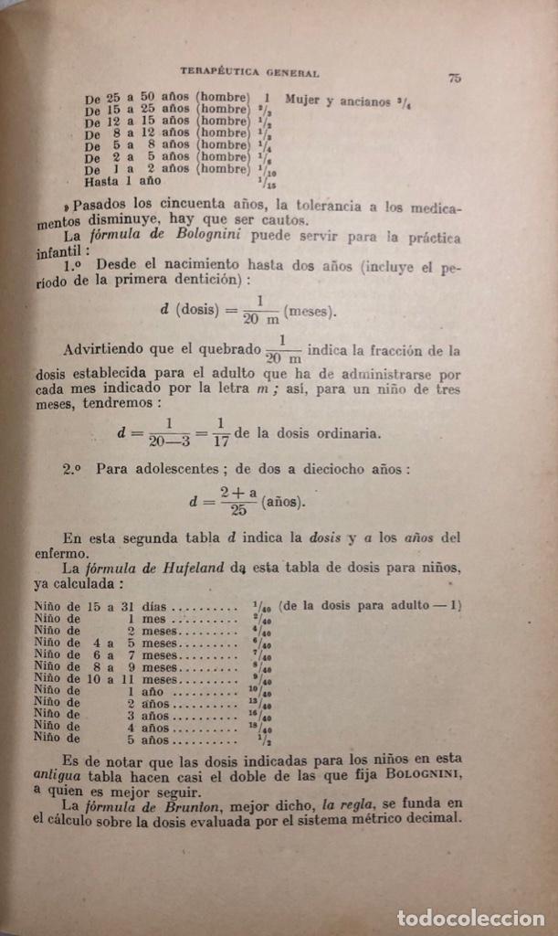 Libros antiguos: TERAPEUTICA APLICADA A LA ESTOMATOLOGIA CON SU CLINICA E HIGIENE ORAL. ISMAEL CLARK. - Foto 9 - 156470098
