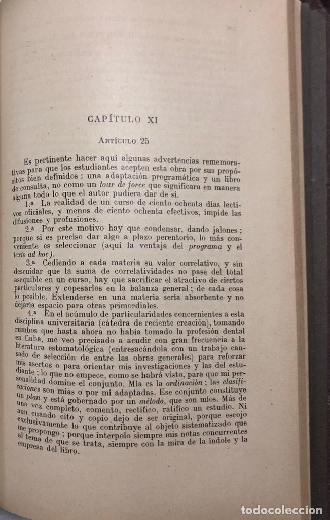 Libros antiguos: TERAPEUTICA APLICADA A LA ESTOMATOLOGIA CON SU CLINICA E HIGIENE ORAL. ISMAEL CLARK. - Foto 15 - 156470098