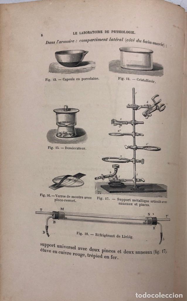 Libros antiguos: MANIPULATIONS DE PHYSIOLOGIE. LEON FREDERICO. LIBRO EN FRANCES. PARIS 1892. PAGS 283. - Foto 2 - 156481554