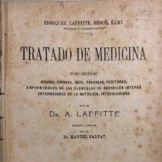 Libros antiguos: TRATADO DE MEDICINA. TOMO II. MANUEL SALVAT. EDITORIAL SALVAT. BARCELONA. PAGS 912.. Lote 156484710