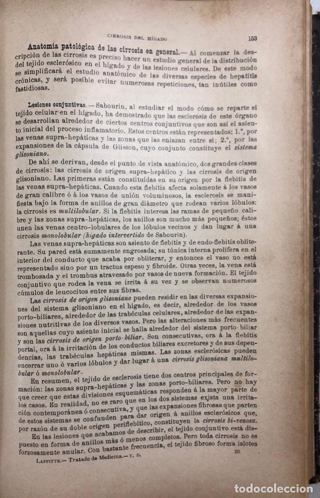 Libros antiguos: TRATADO DE MEDICINA. TOMO II. MANUEL SALVAT. EDITORIAL SALVAT. BARCELONA. PAGS 912. - Foto 4 - 156484710