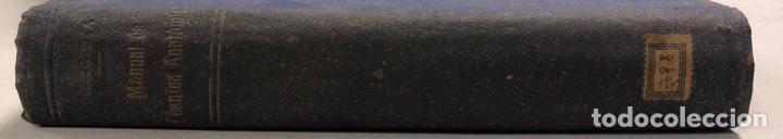 Libros antiguos: MANUAL DE TECNICA ANATOMICA. DANIEL MEZQUITA MORENO. MADRID 1918. PAGS 593. - Foto 2 - 156486330