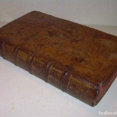 Libros antiguos: LIBRO DE MEDICINA..TAPAS DE PIEL. AÑO...1750 (FRANCES).. Lote 156861874