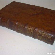 Libros antiguos: LIBRO DE MEDICINA TAPAS DE PIEL.. AÑO...1748 (FRANCES).. Lote 156862122