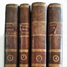 Libros antiguos: CURSO COMPLETO DE ANATOMÍA DEL CUERPO HUMANO - JAIME BONELLS. MADRID. 1796-1799.. Lote 156893746