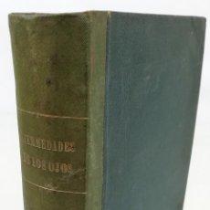 Libros antiguos: ENFERMEDADES DE LOS OJOS. DOCTOR L. P. HART. IMPRENTA EL PORVENIR. BARCELONA 1880. Lote 156962394