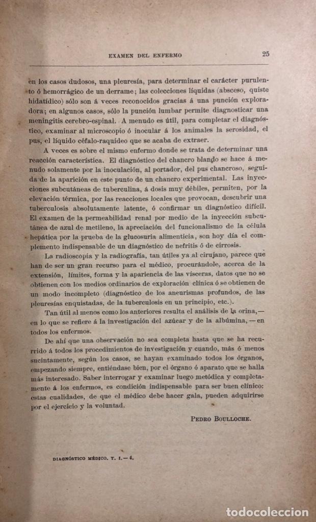 Libros antiguos: OBRA COMPLETA (TOMOS I Y II) DIAGNOSTICO MEDICO. DEBOVE Y ACHARD. BARCELONA 1900. - Foto 5 - 156975650