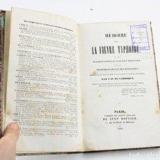Libros antiguos: MÉMOIRE SUR LA FIÈVRE TYPHOIDE, J. B. DE LARROQUE, 1839, LIBRAIRIE DE JUST ROUVIER, PARIS. 22X14CM. Lote 156977566
