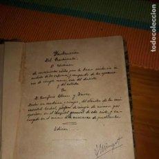 Libros antiguos: INSTRUCCIÓN DEL PRACTICANTE O RESÚMEN POR DR. BONIFACIO BLANCO Y TORRES 1868***. Lote 157321466