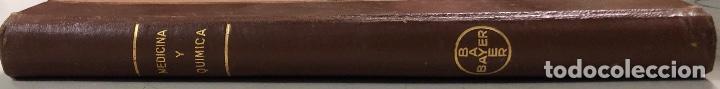 Libros antiguos: MEDICINA Y QUIMICA. SUPLEMENTO DE LA REVISTA DE INFORMACION TERAPEUTICO 1937. PAGS 239. - Foto 4 - 157330162