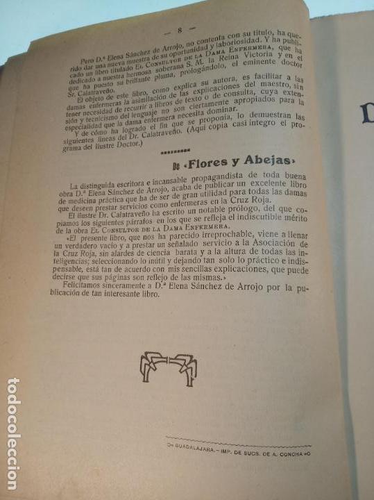 Libros antiguos: El consultor de la dama enfermera. Elena Sánchez de Arrojo. Cruz roja. Único a la venta. Firmado!! - Foto 7 - 274418553