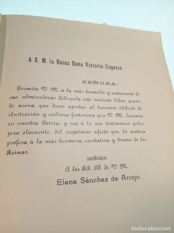 Libros antiguos: El consultor de la dama enfermera. Elena Sánchez de Arrojo. Cruz roja. Único a la venta. Firmado!! - Foto 10 - 274418553