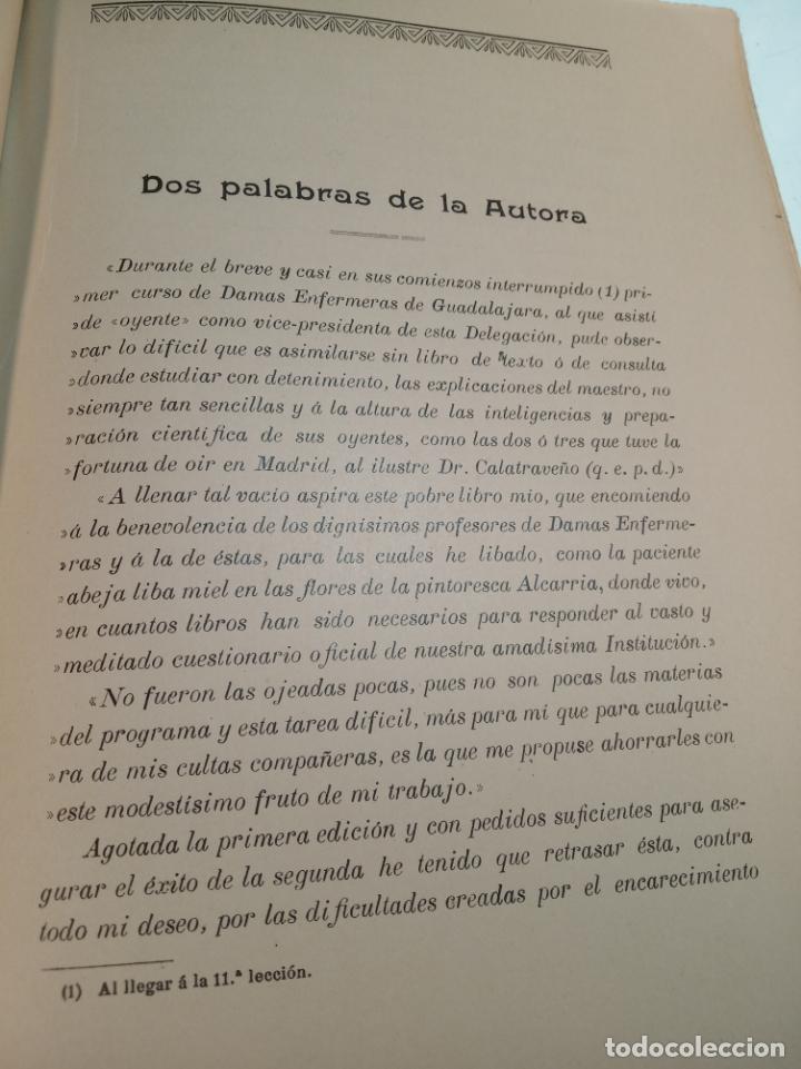 Libros antiguos: El consultor de la dama enfermera. Elena Sánchez de Arrojo. Cruz roja. Único a la venta. Firmado!! - Foto 11 - 274418553