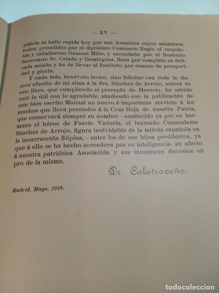 Libros antiguos: El consultor de la dama enfermera. Elena Sánchez de Arrojo. Cruz roja. Único a la venta. Firmado!! - Foto 12 - 274418553