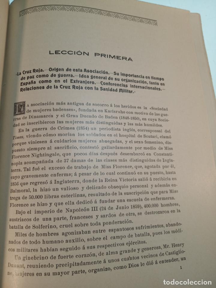 Libros antiguos: El consultor de la dama enfermera. Elena Sánchez de Arrojo. Cruz roja. Único a la venta. Firmado!! - Foto 13 - 274418553