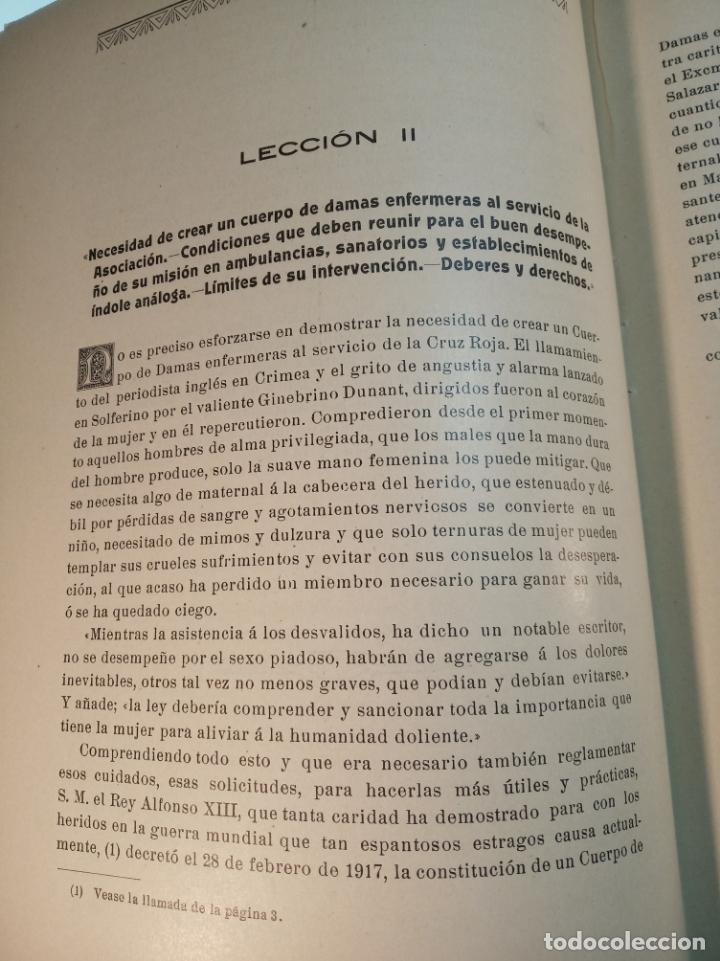 Libros antiguos: El consultor de la dama enfermera. Elena Sánchez de Arrojo. Cruz roja. Único a la venta. Firmado!! - Foto 15 - 274418553
