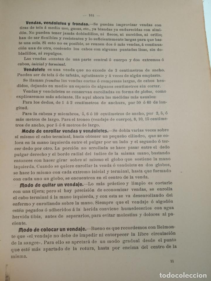 Libros antiguos: El consultor de la dama enfermera. Elena Sánchez de Arrojo. Cruz roja. Único a la venta. Firmado!! - Foto 18 - 274418553