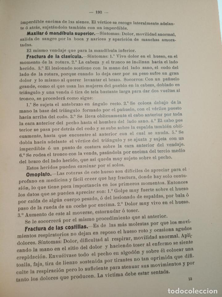 Libros antiguos: El consultor de la dama enfermera. Elena Sánchez de Arrojo. Cruz roja. Único a la venta. Firmado!! - Foto 19 - 274418553