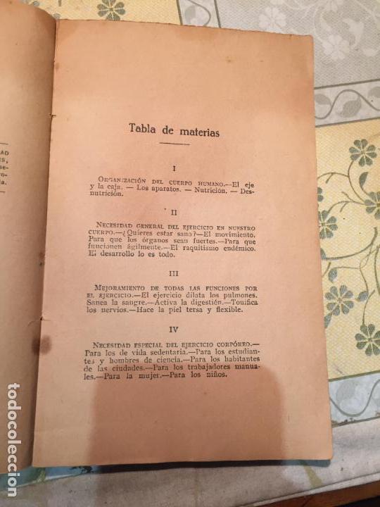 Libros antiguos: Antiguo libro salud, fuerza, belleza gimnasia Sueca por el Dr. Saimbraum - Foto 3 - 159307894