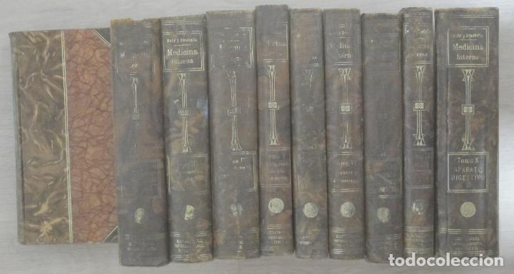 TRATADO DE MEDICINA INTERNA DR. L. MOHR Y DR. R. STAEHELIN 10 VOLÚMENES SELLO DR. JOSÉ MA POMERAL (Libros Antiguos, Raros y Curiosos - Ciencias, Manuales y Oficios - Medicina, Farmacia y Salud)