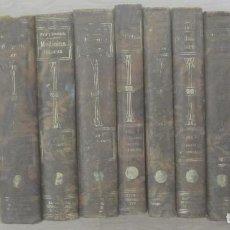 Libros antiguos: TRATADO DE MEDICINA INTERNA DR. L. MOHR Y DR. R. STAEHELIN 10 VOLÚMENES SELLO DR. JOSÉ MA POMERAL. Lote 159423850