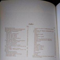 Libros antiguos: LA HOMEOPATÍA. LOS DIAGNÓSTICOS ALTERNATIVOS. MEDICINA NATURAL. Lote 159649206