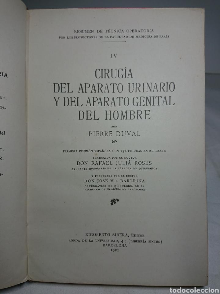 Libros antiguos: Aparato Urinario y Genital del Hombre, 1921, Pierre Duval, con 234 figuras en el texto - Foto 3 - 159804448