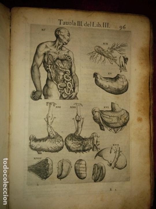 Libros antiguos: ANATOMÍA DEL CUERPO HUMANO, DE VALVERDE DE AMUSCO AÑO 1560.Siglo XVI - Foto 12 - 152441030