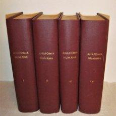 Libros antiguos: TRATADO DE ANATOMÍA HUMANA DE L. TESTUT SEXTA EDICIÓN (1915 O ANTERIOR). Lote 160160042