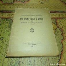 Libros antiguos: DISCURSO SESIÓN INAUGURAL REAL ACADEMIA NACIONAL DE MEDICINA. DALMACIO GARCÍA E IZCAR. MADRID 1923.. Lote 160366858