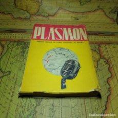 Libros antiguos: PLASMÓN. EMISIÓN MÉDICA DE RADIO NACIONAL DE ESPAÑA. FIRMADO POR EL AUTOR. 1ª EDICIÓN 1949.. Lote 160419786