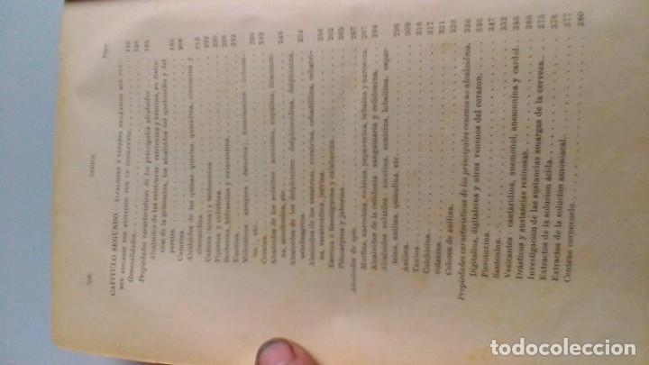 Libros antiguos: MANUAL TOXICOLOGÍA - G DRAGENDORFF - ED CARLOS BAILLY BAILLIERE 1888 - Foto 9 - 160641622