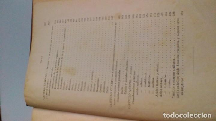 Libros antiguos: MANUAL TOXICOLOGÍA - G DRAGENDORFF - ED CARLOS BAILLY BAILLIERE 1888 - Foto 10 - 160641622
