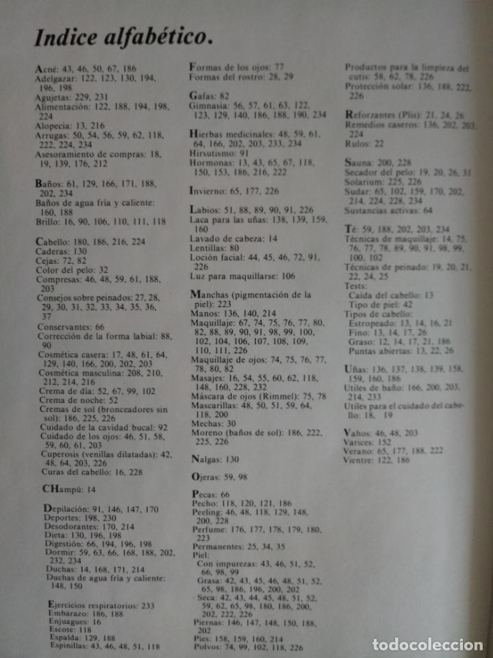 Libros antiguos: EL LIBRO DE ORO DE LA BELLEZA - TIEMPO LIBRE 1983 - Foto 2 - 160719042