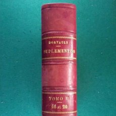 Libros antiguos: LA OFICINA DE FARMACIA ESPAÑOLA. DECIMOSEXTO SUPLEMENTO / DORVAULT / 1896. Lote 160772566