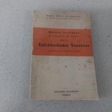 Libros antiguos: LIBRO ENFERMEDADES VENÉREAS DR LEÓN COQUELET. Lote 162650350